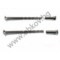 Проходни винтове М4-70 мм (чупещи) за дръжки