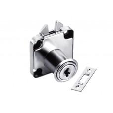 Мебелна брава квадратна за чупеща врата ХР 338 fi 19x22 мм.(опаковка 005)