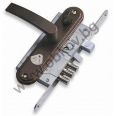 Брава касова РУСКА с резе 55/55 мм комплект с дръжки