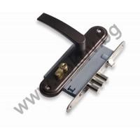 Брава секретна РУСКА 55/55 мм комплект с дръжки